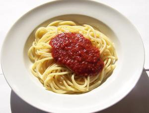Microwave Spaghetti Sauce