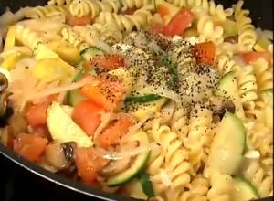 Healthy Vegetable Rotini