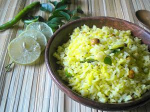 Spicy Lemon Rice