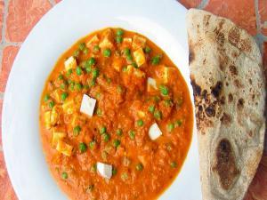 Paneer Matar Curry