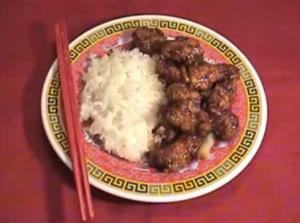 Chinese Fried Chicken In Sweet And Sour Sauce