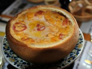 Baked Crab Tuna Fondue