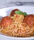 Zucchini Fettucine with Marinara Sauce