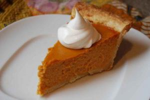 Diabetic Pumpkin Pie