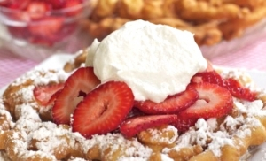 Easy Funnel Cake-Fair Favorites
