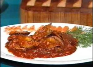 Sweet and Sour Veal with Sherry