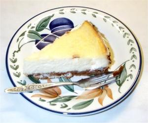Instant Lemon Cheesecake