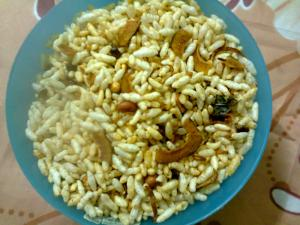Puffed Rice Chiwda