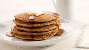 Orange Pecan Pancakes