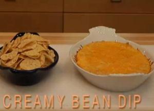 Baked Creamy Bean Dip