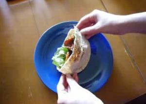 Homemade Pita Sandwich