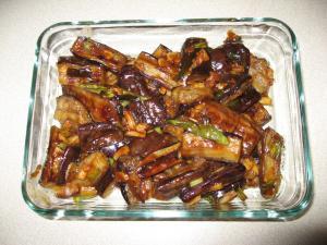 Szechuan Garlic Eggplant