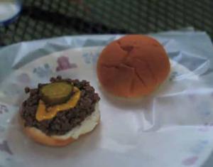 Loose Meat Burger