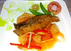 Tangy Apricot Fish