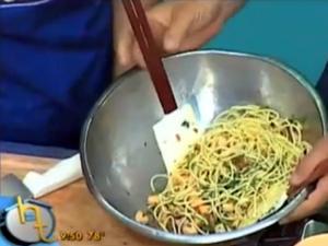 Tony Caputo Makes Pasta and Melon Salad