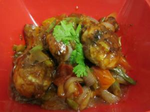 Chinese Style Chicken in Sweet and Sour Sauce
