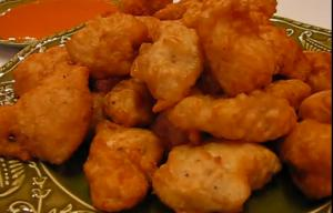 Batter Fried Chicken Nuggets