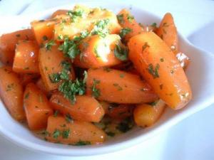 Oven Cooked Carrots
