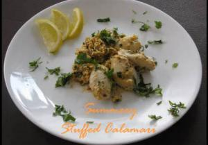 Homemade Stuffed Calamari