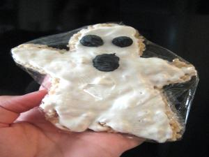 Rice Krispie Ghost Treats