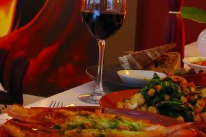 ordering vegetarian fare at Spanish Restaurants