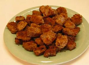 Delightful Pan-Fried Round Steak Nuggets