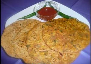 Indian Egg Paratha