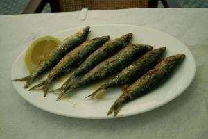 Grilled Small Fish