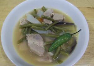 Pork and Vegetable Soup
