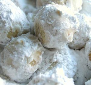 Powdered Sugar Cookies