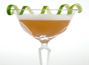 Rum Apple Rickey