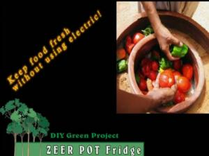 Zeer Pot Fridge - Cool Your Food or Drinks with No Electric Needed