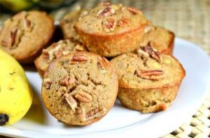 Butterscotch Chip Muffins With Pecans