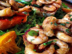Baked Zesty Paprika Prawns (Shrimp!)
