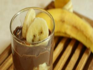 Carolinesfamilymeals Banana and Chocolate Cheesecake Pots