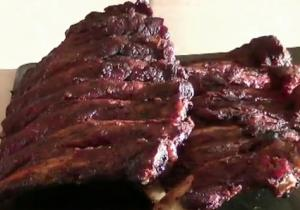 Smoked Sweet and Sour Beef Ribs