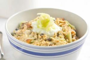 Homemade Swiss Bircher Muesli