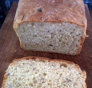 Wild Rice Three Grain Bread