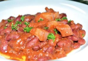 Pork and Beans Spanish Style