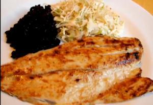 Pan Grilled Mizo Glazed White Fish