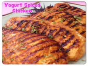 How to Make Yogurt Spiced Chicken