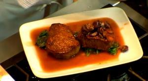 Angus Beef Filet with Potatoes Au Cru