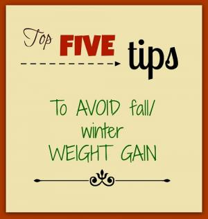 weight management tips for holidays