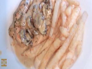 Creamy Chicken Dijon and Mushroom