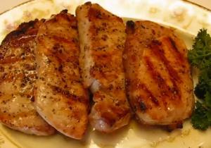 Recipe thick cut boneless pork chops