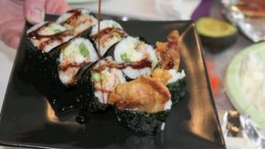 How to Make Spider Sushi Rolls