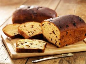 Pumpkin Tea Bread