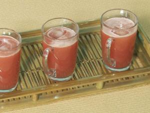 Watermelon Apple Drink by Tarla Dalal