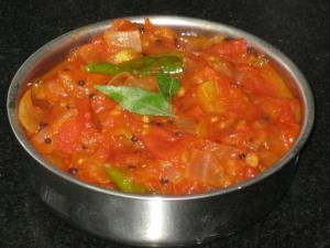 Spicy Tomato Fry