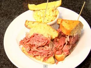 Pastrami Reuben Sandwich with Mac Salad - Segment 2